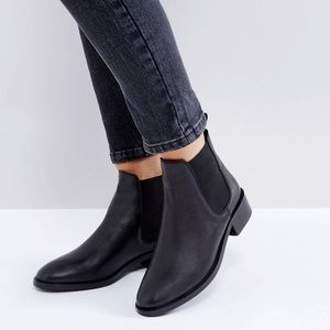 ASOS: Leather Chelsea Ankle Boots